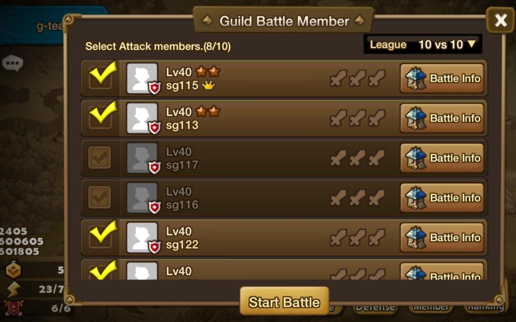 Das Gilden-Update erreichte Spieler im März 2015.