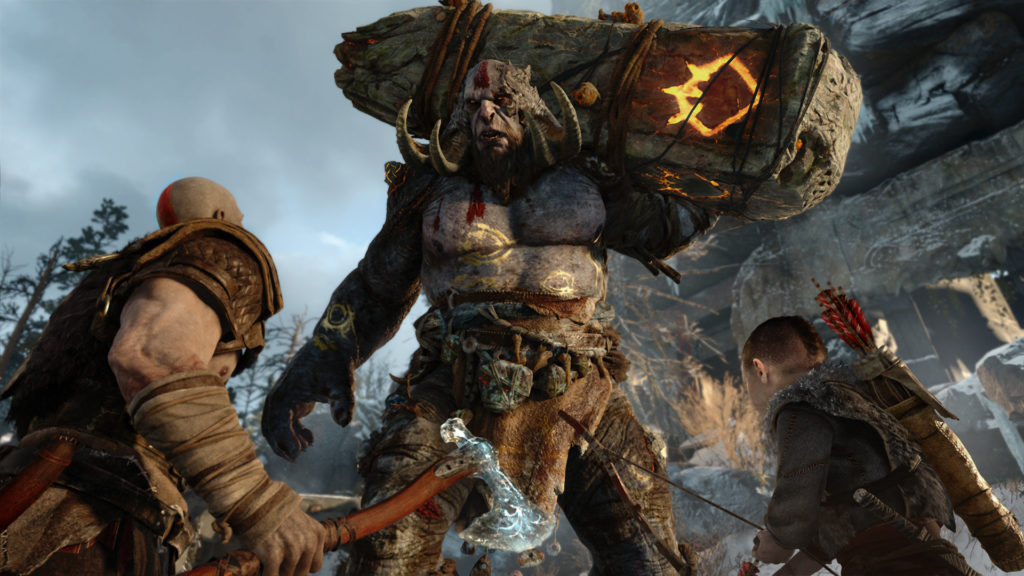 God of War – Feuertroll Brenna Daudi